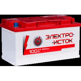 Аккумуляторная батарея ЭЛЕКТРОИСТОК 6СТ-100АЗ (0) (L5) 800А 12V (E)