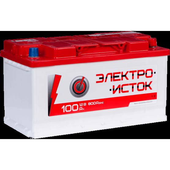 Аккумулятор для авто Аккумуляторная батарея ЭЛЕКТРОИСТОК 6СТ-100АЗ (1) (L5) 800А 12V (E)