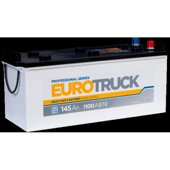 Аккумулятор для авто Аккумуляторная батарея EUROTRUCK 6СТ-145АЗ (3) (A) 1100А 12V (E)