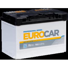 Аккумуляторная батарея EUROCAR 6СТ-78АЗ (0) (L3) 780А 12V (E)