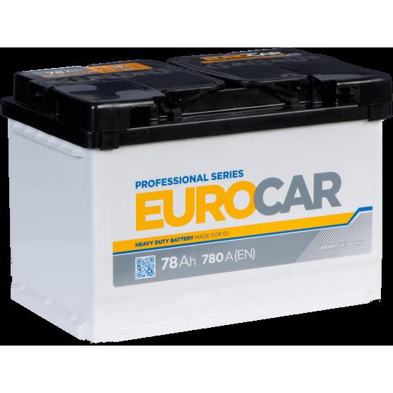 Аккумулятор для авто Аккумуляторная батарея EUROCAR 6СТ-78АЗ (0) (L3) 780А 12V (E)