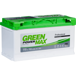 Аккумуляторная батарея GREEN POWER Max 6СТ-110АЗ (0) (L5) 950А 12V (E)