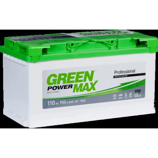 Аккумулятор для авто Аккумуляторная батарея GREEN POWER Max 6СТ-110АЗ (0) (L5) 950А 12V (E)