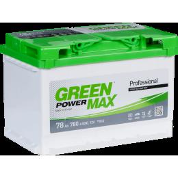 Аккумуляторная батарея GREEN POWER Max 6СТ-78АЗ (0) (L3) 780А 12V (E)
