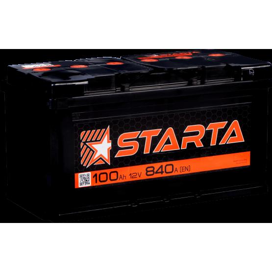 Аккумулятор для авто Аккумуляторная батарея STARTA 6СТ-100АЗ (1) (L5) 840А 12V (E)