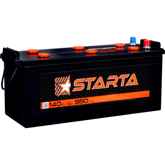 Аккумулятор для авто Аккумуляторная батарея STARTA 6СТ-140АЗ (3) (A) 950А 12V (E)