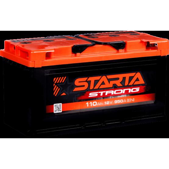 Аккумулятор для авто Аккумуляторная батарея STARTA Strong 6СТ-110АЗ (1) (L5) 950А 12V (E)