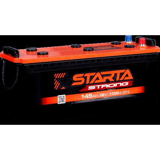 Аккумулятор для авто Аккумуляторная батарея STARTA Strong 6СТ-145АЗ (3) (A) 1100А 12V (E)