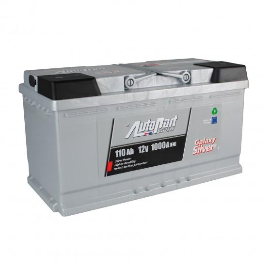Аккумулятор для авто 110 E(0) AutoPart Galaxy Silver (L5) 950/1000A