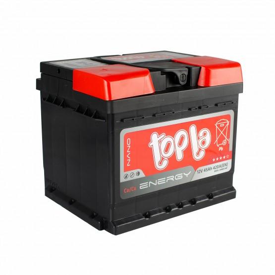 Аккумулятор для авто 45 E(1) Topla Energy 54403 (LB1) 420A