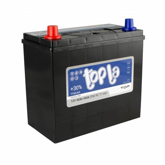 Аккумулятор для авто 45 J(0) Topla Top 54520 (B19+B01) 400A