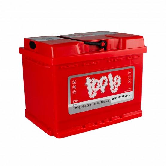 Аккумулятор для авто 60 E(1) Topla Energy 56265 (L2) 600A