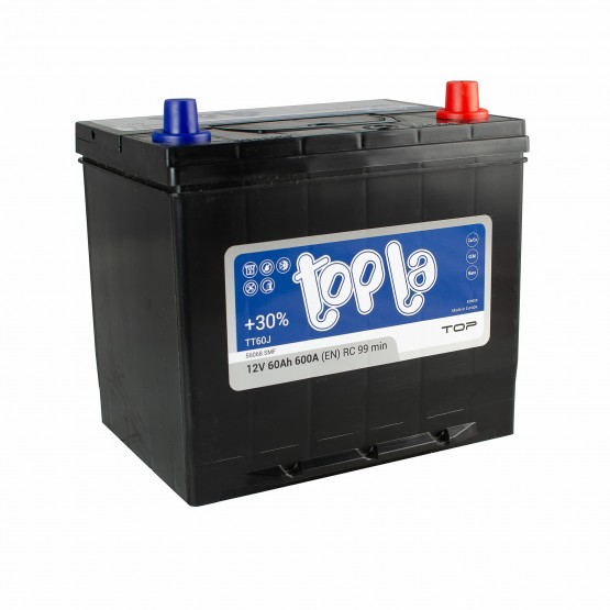 Аккумулятор для авто 60 J(0) Topla Top 56068 (D23+B01) 600A