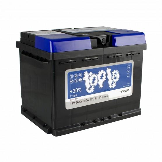 Аккумулятор для авто 66 E(0) Topla Top 56649 (L2) 640A