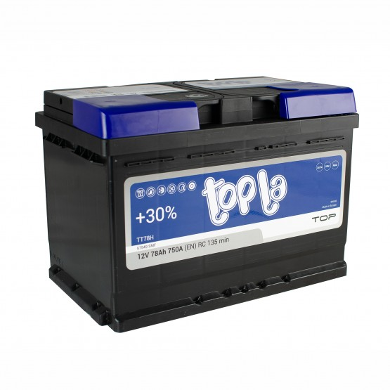 Аккумулятор для авто 78 E(0) Topla Top 57549 (L3) 750A