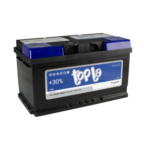 Аккумулятор для авто 85 E(0) Topla Top 58514 (LB4) 800A