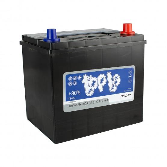 Аккумулятор для авто 65 J(0) Topla Top 56568 (D23+B01) 650A
