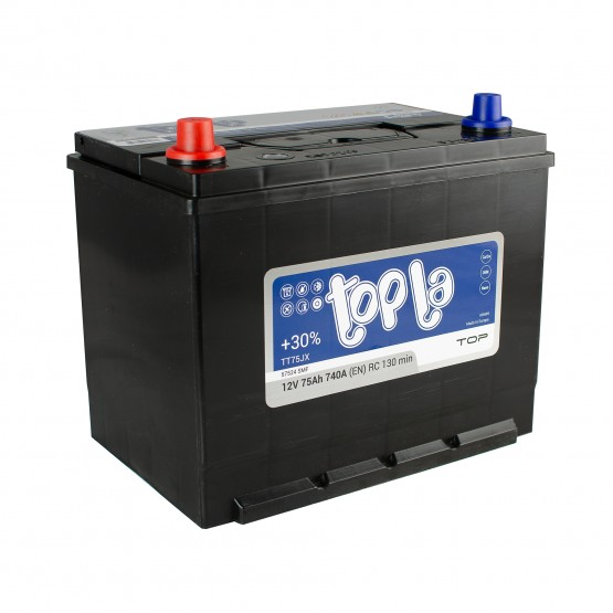 Аккумулятор для авто 75 J(0) Topla Top 57529 (D26+B1) 740A
