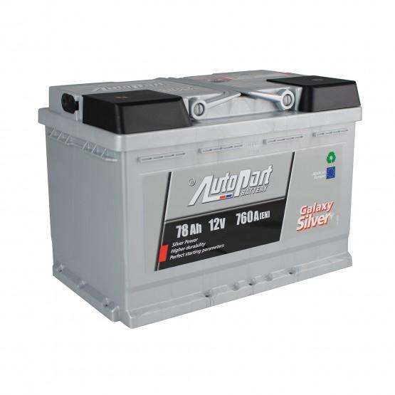 Аккумулятор для авто 78 E(0) AutoPart Galaxy Silver (L3) 760A