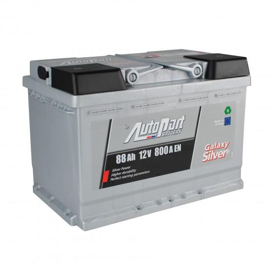 Аккумулятор для авто 88 E(0) AutoPart Galaxy Silver (L3) 800A