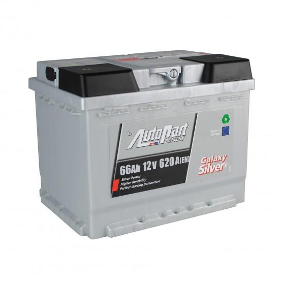 Аккумулятор для авто 66 E(0) AutoPart Galaxy Silver (L2) 620A