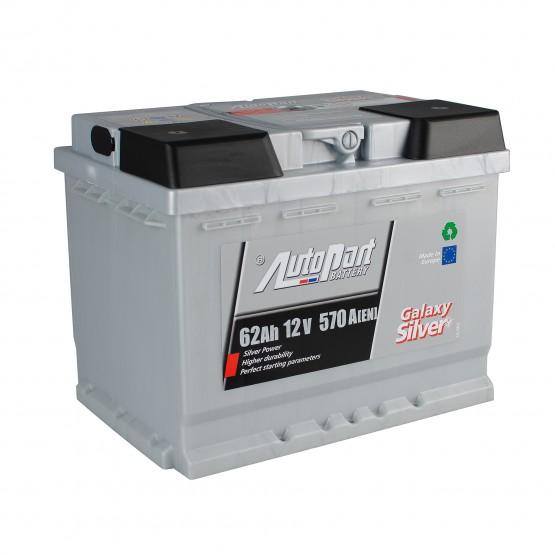 Аккумулятор для авто 62 E(0) AutoPart Galaxy Silver (L2) 570/600A
