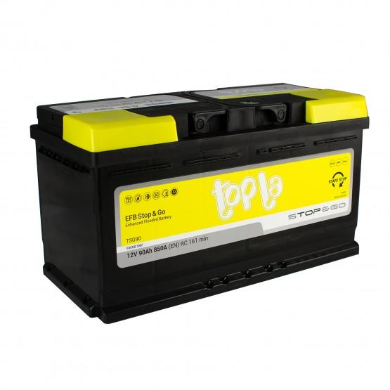 Аккумулятор для авто 90 E(0) Topla EFB Stop & Go 59088 (L5) 850A