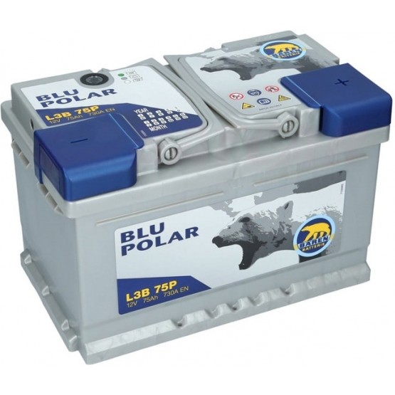 Аккумулятор для авто 75 E(0) Baren Polar Blu 7905629 (LB3) 730A