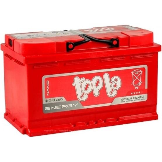 Аккумулятор для авто 100 E(0) Topla Energy 59249 (L4) 800A