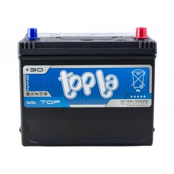 Аккумулятор для авто 70 J(0) Topla Top 57029 (D26+B1) 700A