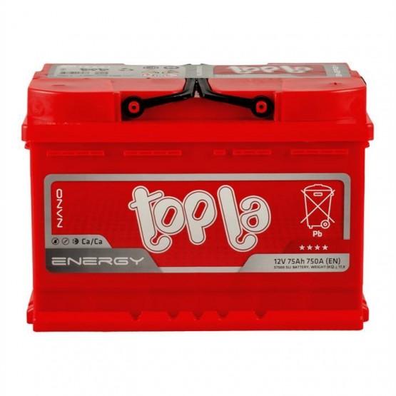 Аккумулятор для авто 75 E(0) Topla Energy 57412 (L3) 750A