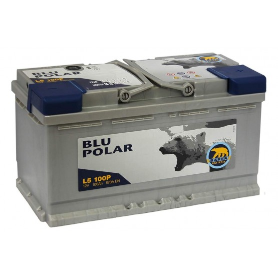 Аккумулятор для авто 100 E(0) Baren Polar Blu 7905633 (L5) 870A