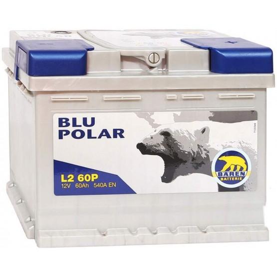 Аккумулятор для авто 60 E(0) Baren Polar Blu 7905620 (L2) 540A