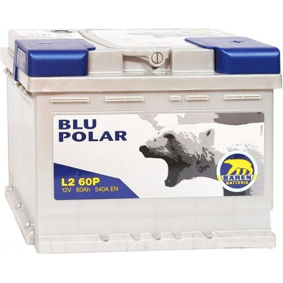 Аккумулятор для авто 60 E(1) Baren Polar Blu 7905621 (L2) 540A