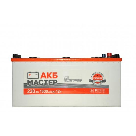 Аккумулятор для авто Аккумуляторная батарея АКБ МАСТЕР 6СТ-230АЗ (3) (C) 1500А 12V (E)