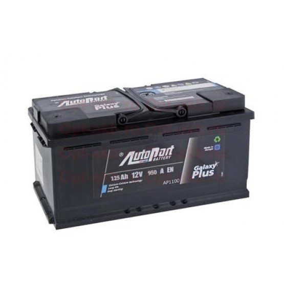 Аккумулятор для авто 125 Е(0) Autopart Galaxy Plus (D2) 950A