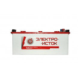 Аккумуляторная батарея ЭЛЕКТРОИСТОК 6СТ-140АЗ (3) (A) 900А 12V (E)