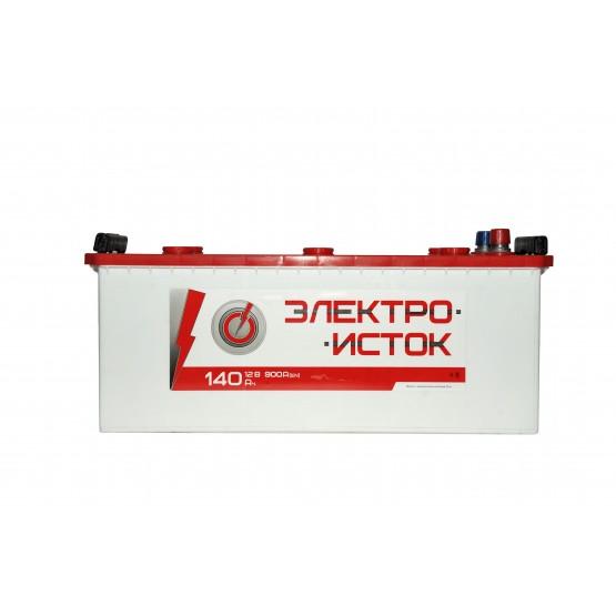 Аккумулятор для авто Аккумуляторная батарея ЭЛЕКТРОИСТОК 6СТ-140АЗ (3) (A) 900А 12V (E)