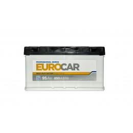 Аккумуляторная батарея EUROCAR 6СТ-95АЗ (0) (L5) 850А 12V (E)