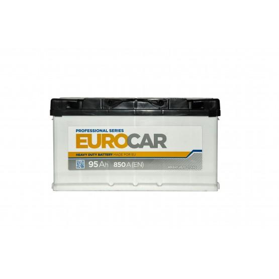 Аккумулятор для авто Аккумуляторная батарея EUROCAR 6СТ-95АЗ (0) (L5) 850А 12V (E)