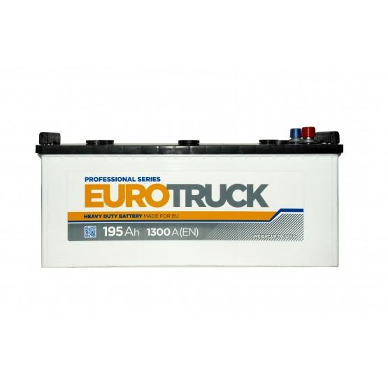 Аккумулятор для авто Аккумуляторная батарея EUROTRUCK 6СТ-195АЗ (3) (B) 1300А 12V (E)