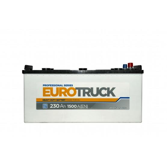 Аккумулятор для авто Аккумуляторная батарея EUROTRUCK 6СТ-230АЗ (3) (C) 1500А 12V (E)
