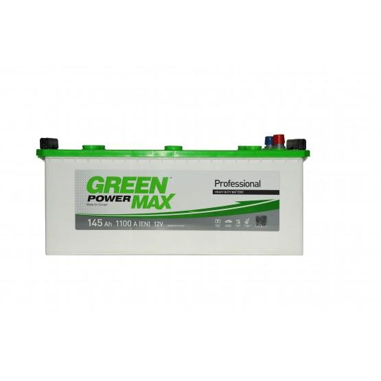 Аккумулятор для авто Аккумуляторная батарея GREEN POWER Max 6СТ-145АЗ (3) (A) 1100А 12V (E)