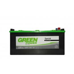 Аккумуляторная батарея GREEN POWER 6СТ-225АЗ (3) (C) 1400А 12V (E)