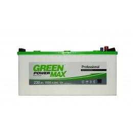 Аккумуляторная батарея GREEN POWER Max 6СТ-230АЗ (3) (C) 1500А 12V (E)