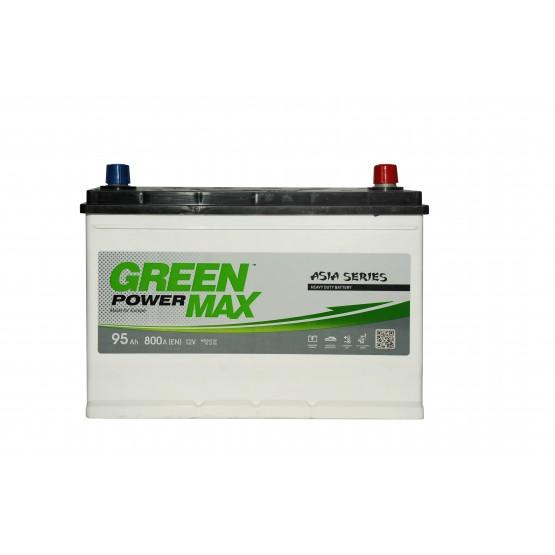 Аккумулятор для авто Аккумуляторная батарея GREEN POWER Max Japan 6СТ-95АЗ (0) (D31+B13) 800А 12V (J)