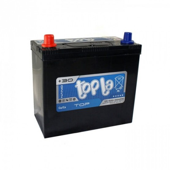 Аккумулятор для авто 45 J(1) Topla Top 54522-51 (B24+B0) 400A