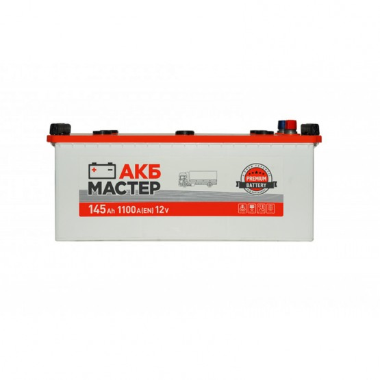 Аккумулятор для авто Аккумуляторная батарея АКБ МАСТЕР 6СТ-145АЗ (3) (A) 1100А 12V (E)