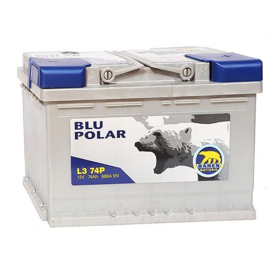 Аккумулятор для авто 74 E(0) Baren Polar Blu 7905627 (L3) 680A