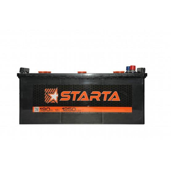 Аккумулятор для авто Аккумуляторная батарея STARTA 6СТ-190АЗ (3) (B) 1250А 12V (E)